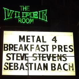 Viper Room Sign
